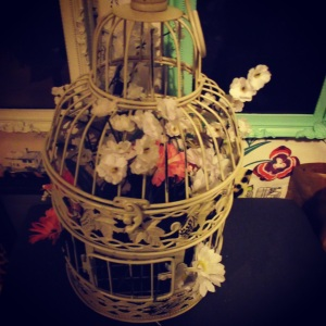 New bird cage for my room.