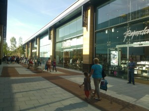 My first of many visits to the new and improved Whiteley Shopping Centre.