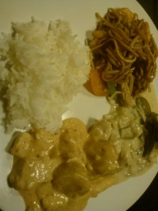 Beautiful homemade Thai Curry