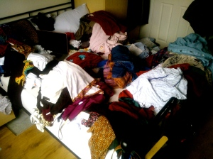 Time to sort through my winter clothes!