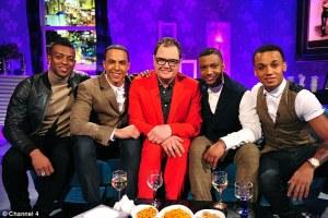 JLS on Alan Carr: Chatty Man