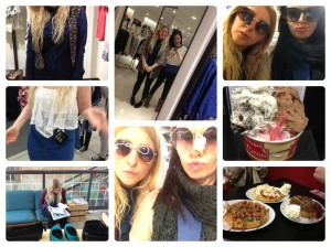 Shopping in Southampton; Zara, Urban Outfitters, New Look