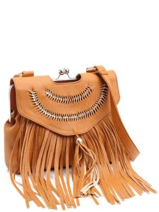 Summer Brown messenger bag, £18 - Lamodauk