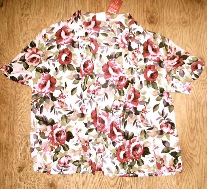 Floral shirt, Cancer Research £4.50