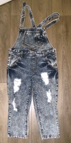 Dungarees, Marie Curie £4.50